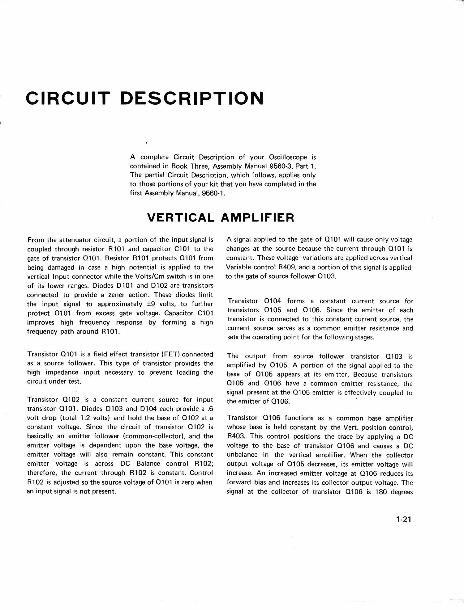Heath Bell Howell 5 Scope Model 100 203 31 9560 1 Completecircuit1jpg Page Of