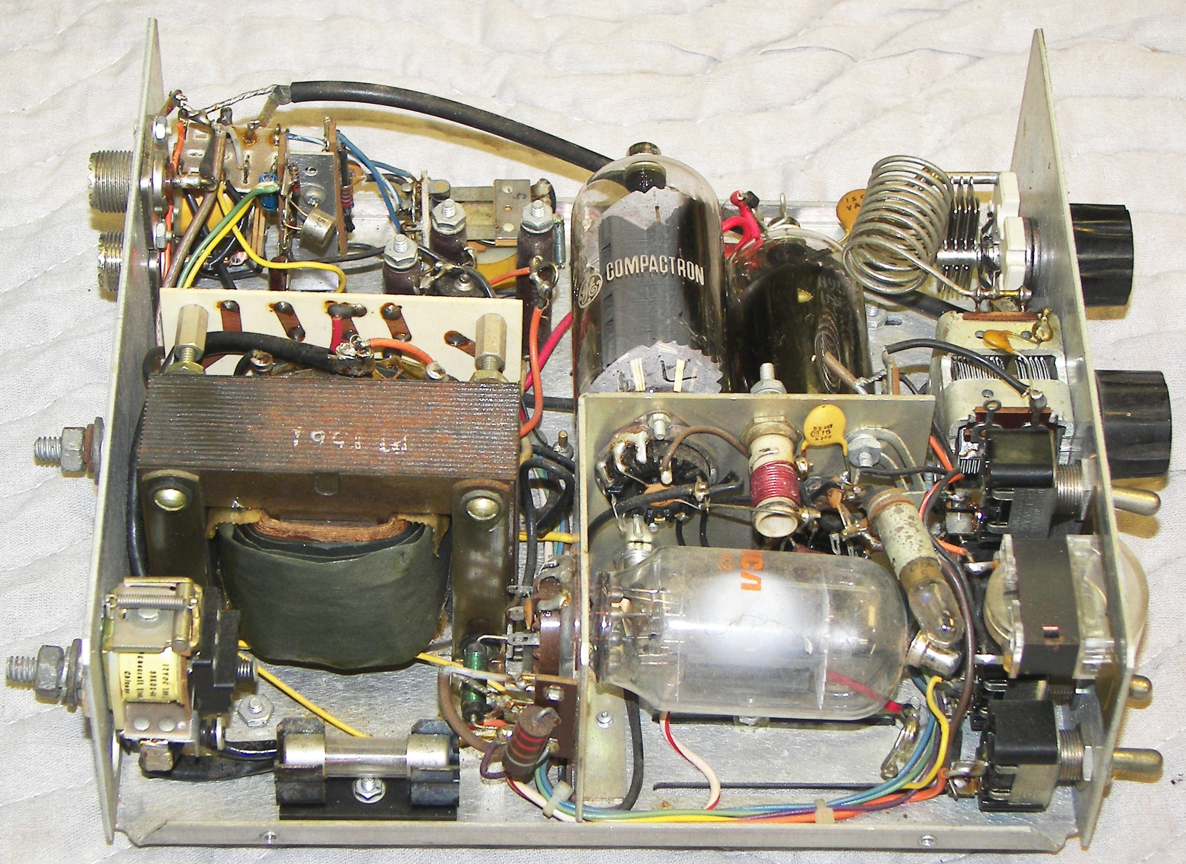 Vacuum Tube Mobile Hf Linear Amplifiers