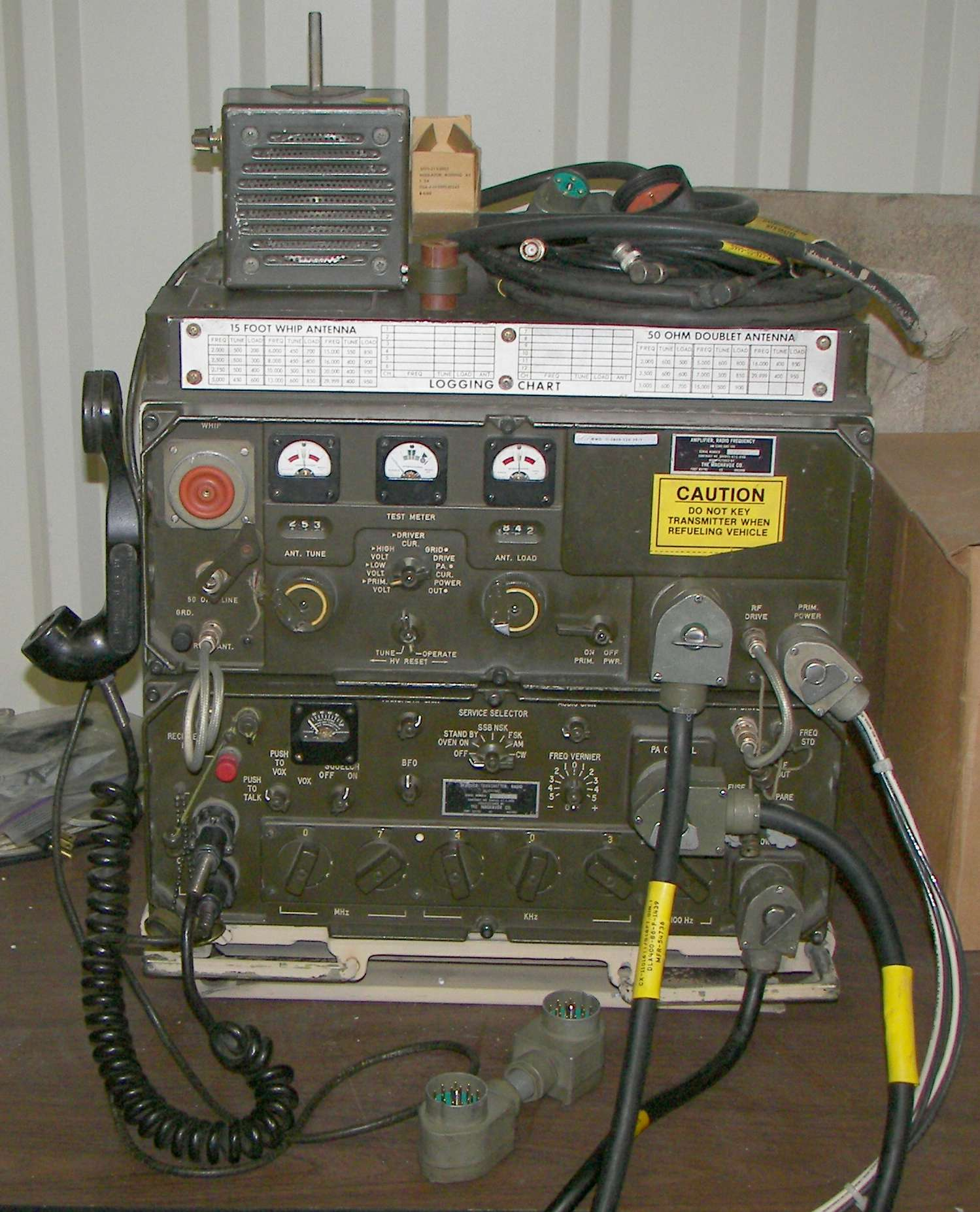 AN/GRC-106A HF Radio Set