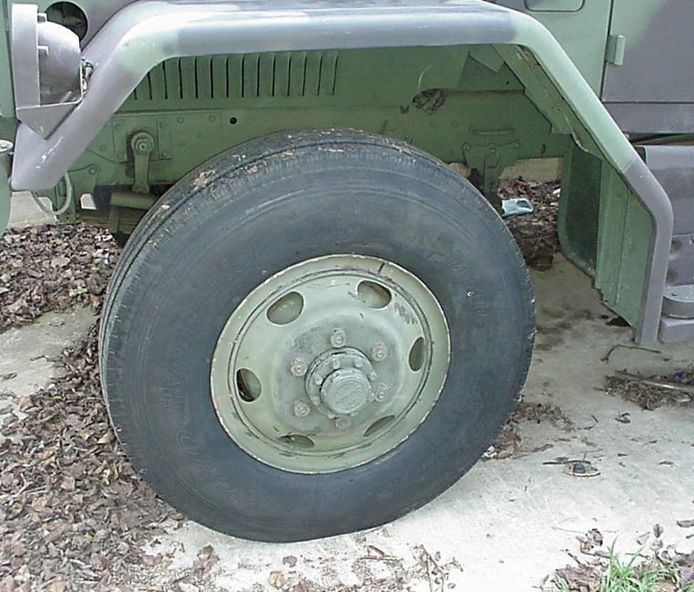 Fit Of 11x20 Tires On M35a2