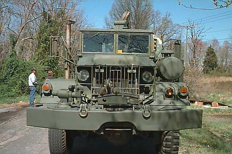 M-35 Deuce and a Half, and the Road Trip from Marshall