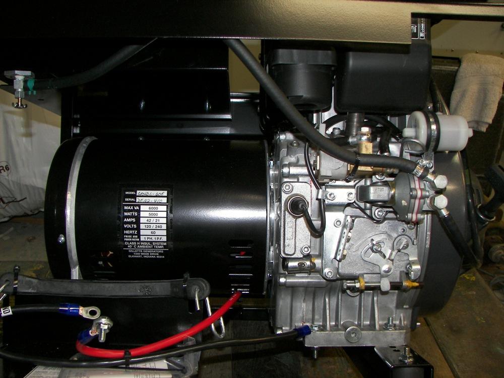 Installing A Diesel Generator On An M35a2 Truck