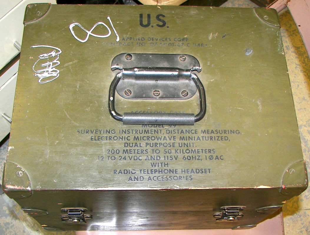 Distance Measuring Instrument : Model military distance measuring instrument