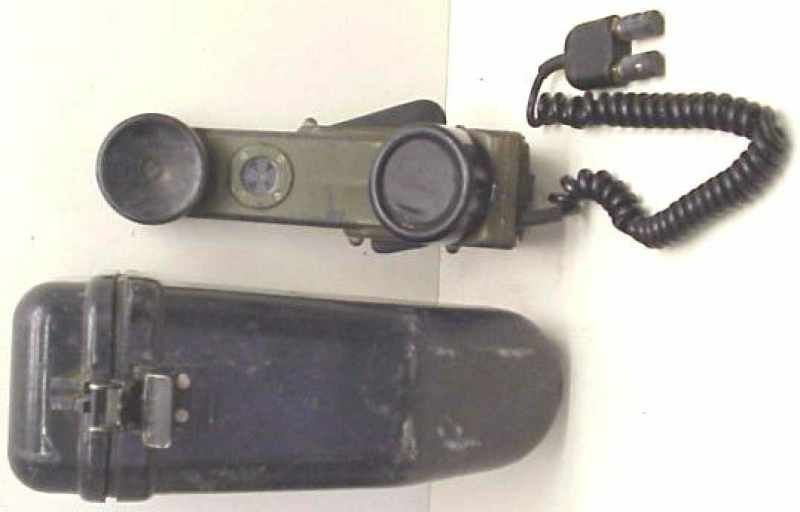 usa military phones ta 1 pt telephone sound powered unit requires 2 conductor field phone wire connected to another ta 1 for communication out batteries