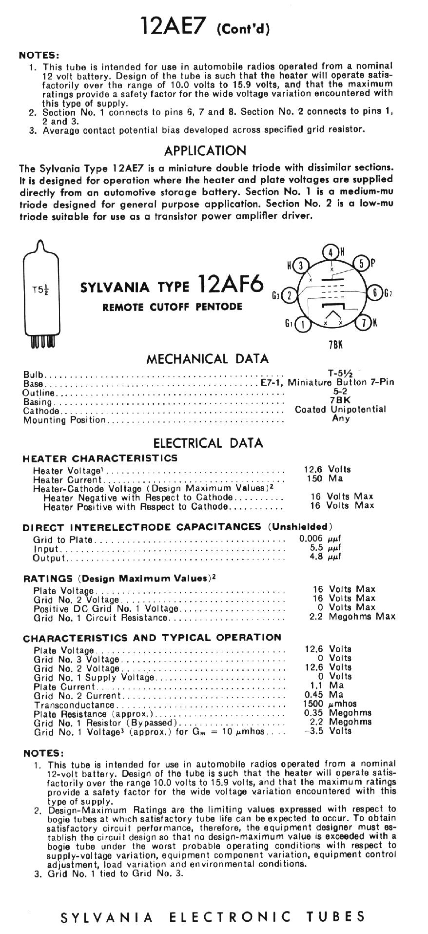 Sylvania Technical Manual 1959